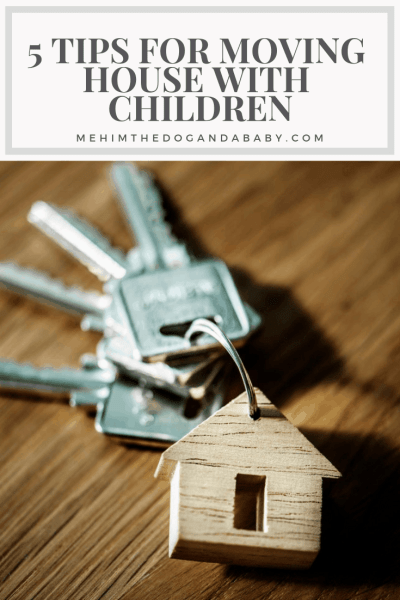 moving house with children