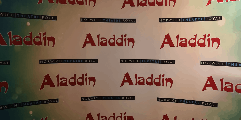 Aladdin At Norwich Theatre Royal