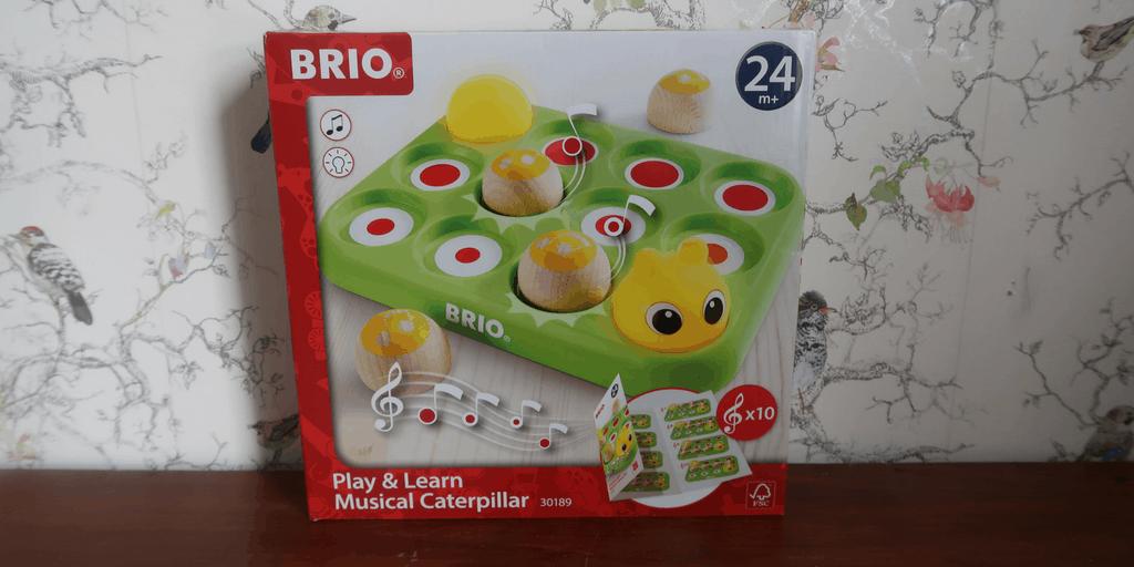 BRIO Play & Learn Musical Caterpillar Review