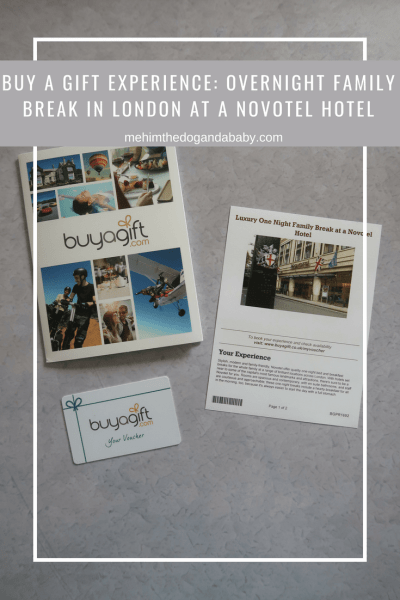 Buy A Gift Experience: Overnight Family Break In London At A Novotel Hotel