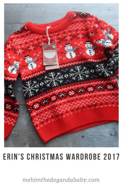 Erin's Christmas Wardrobe 2017