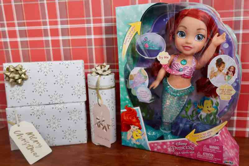 Disney Sing and Sparkle Ariel Doll