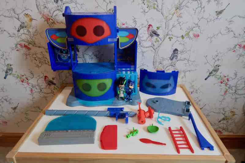 PJ Masks Mission Control HQ Playset pieces