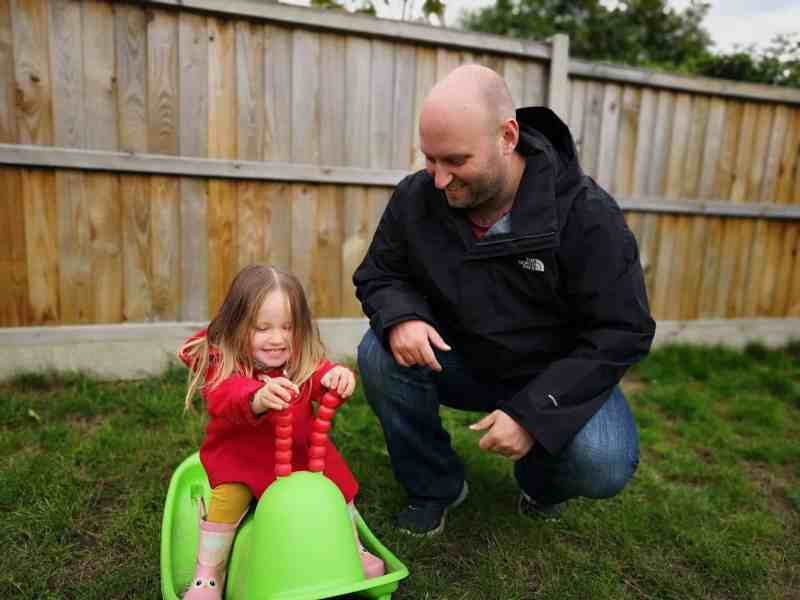 Erin and John playing