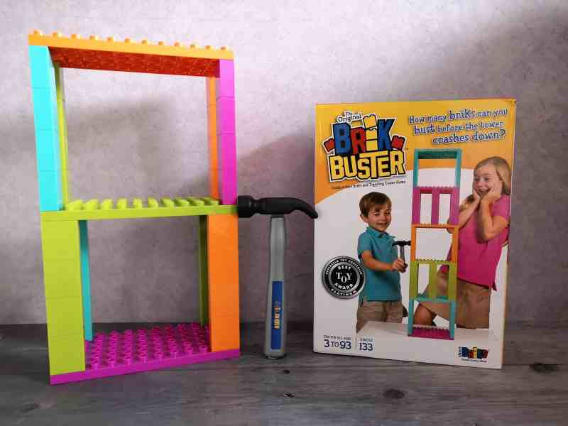 Brik Buster Tower Toppling Game