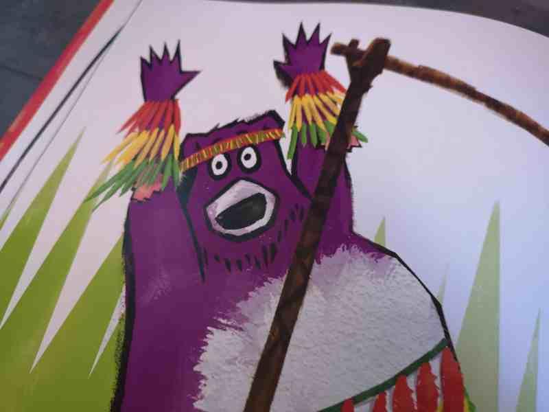 Bear Moves by Ben Bailey Smith and Sav Akyuz