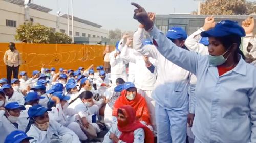 संघर्ष के बाद केहिन इंडिया में कार्यबहाली के साथ 9,500 का समझौता