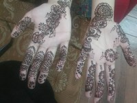 beautiful bail from finger to full and for both hand mehndi design