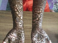 full dark mehandi designs cover full hand and arms image hd