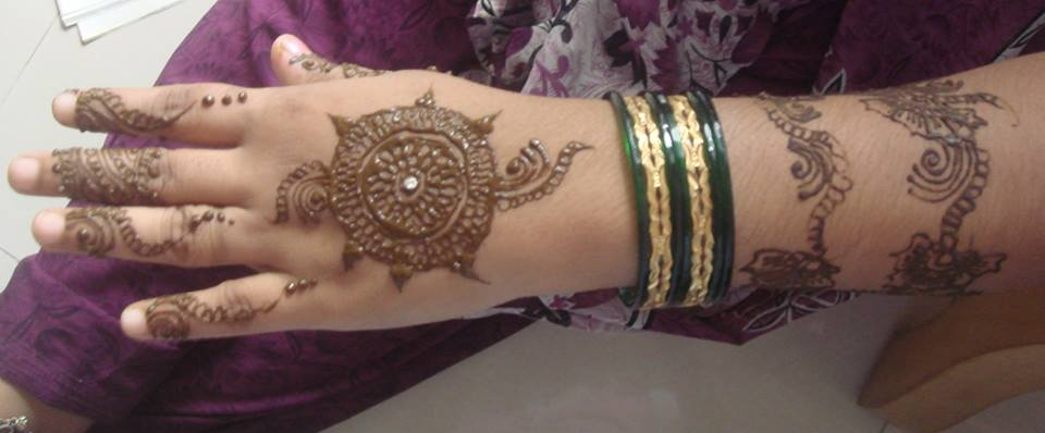 hand easy mehndi designs