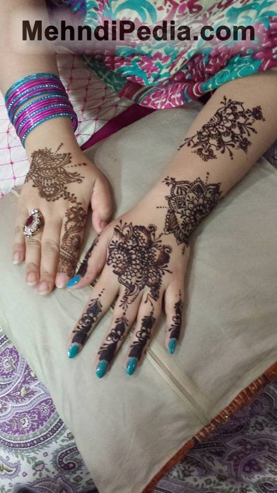 mehndi designs for small hands
