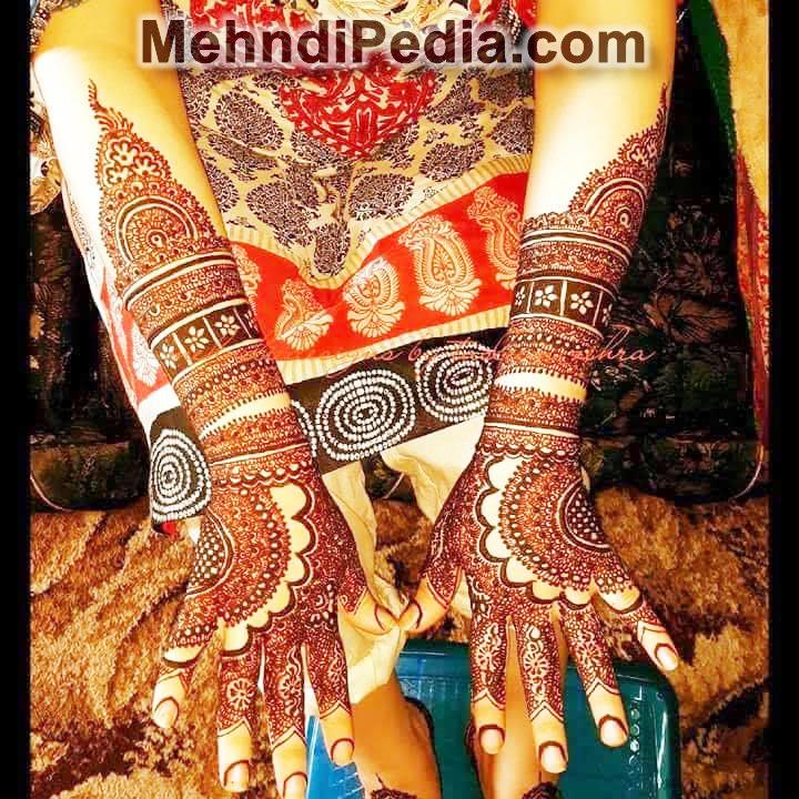 full hand and foot mehndi designs