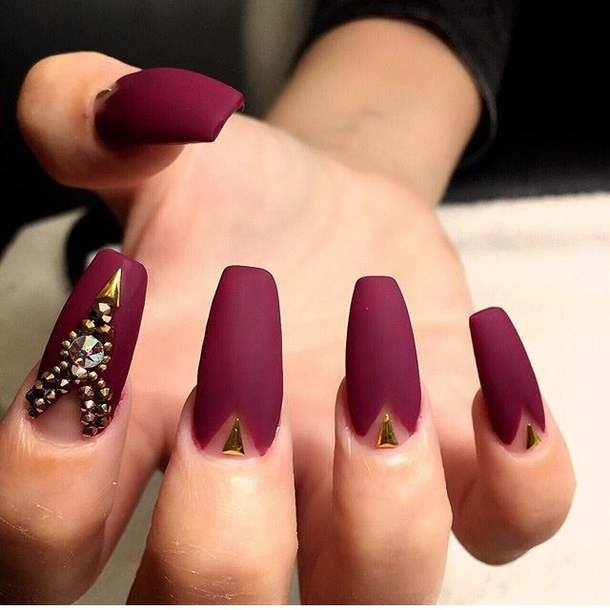 amazing red nail ideas image