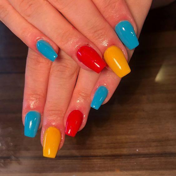 white girl nail art designs