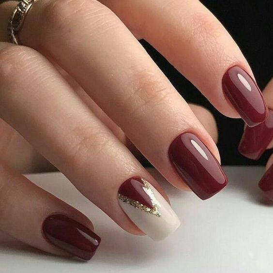 Glossy maroon red Six Ways