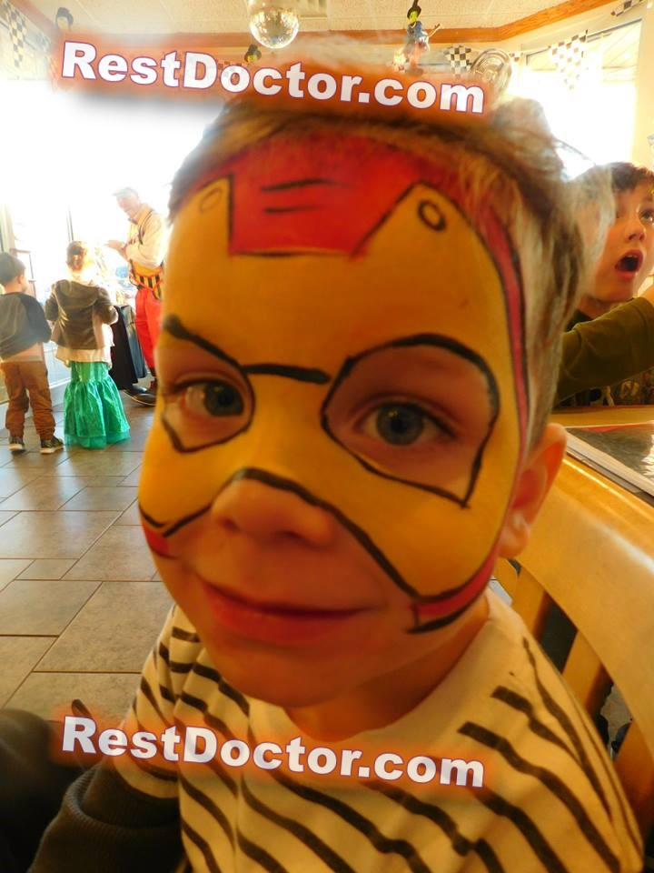 easy spider man face paint cheek for beginners