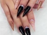 Pinstripe Nails long