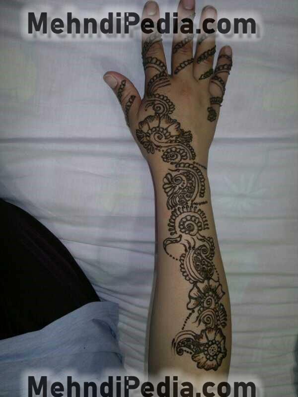 amazing bail arm mehndi designs easy