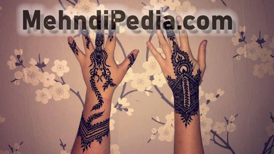 bail mehndi desines for collage girls
