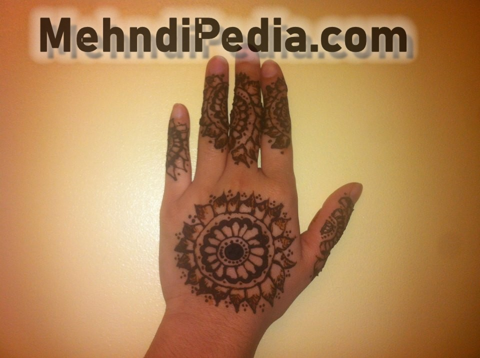 circle mehndi designs for collage girls back hands
