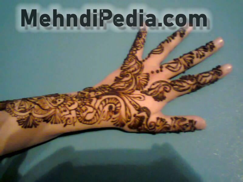 full arm mehndi designs for girl