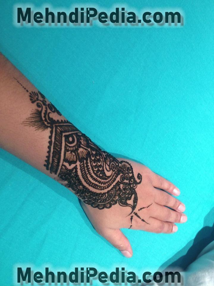full dark mehndi designs for girls