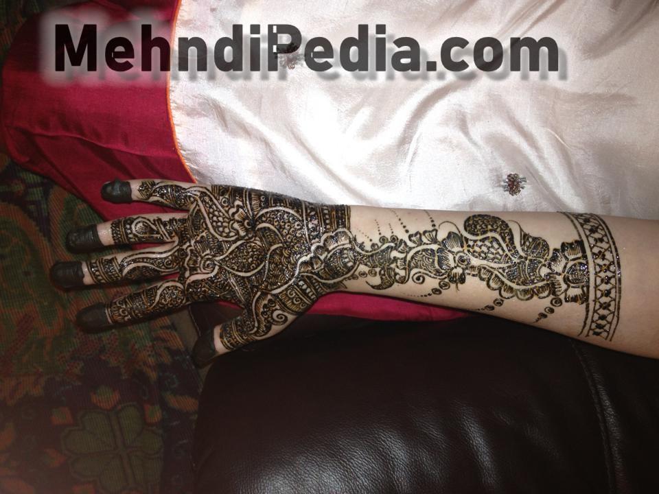 full hand and arm amazing mehendi designs