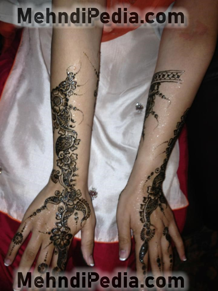 simple and easy arm mehndi designs easy