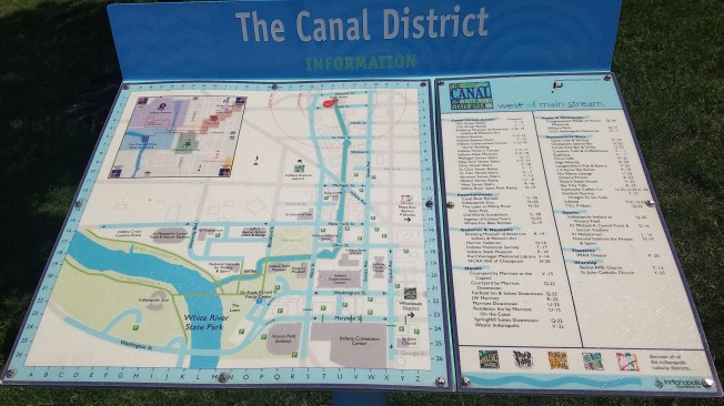 IND Canal Map