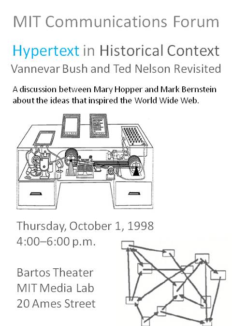 MIT Hypertext in Historical Context Poster