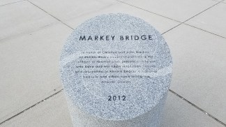 Markey Bridge Dedication