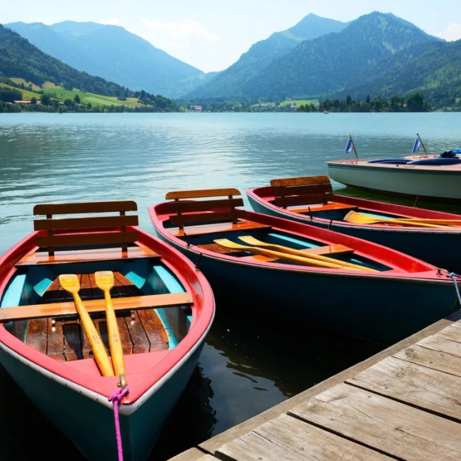 Boote am Schliersee (Copyright: istockphotos: no_limit_pictures)