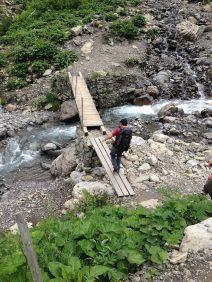 Aufstieg zur Kemptener Hütte