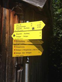 Abstieg nach Holzgau