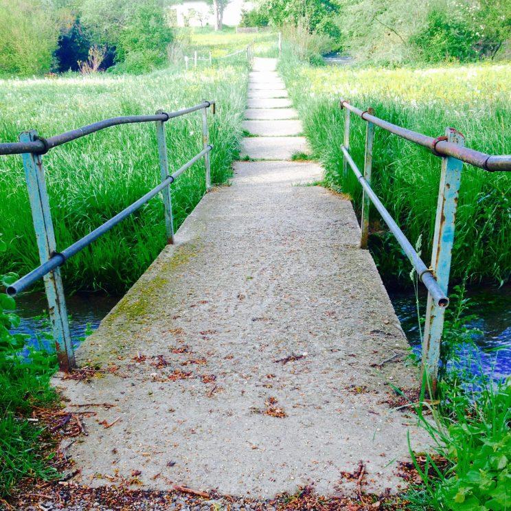 Brücke über die Anlauter
