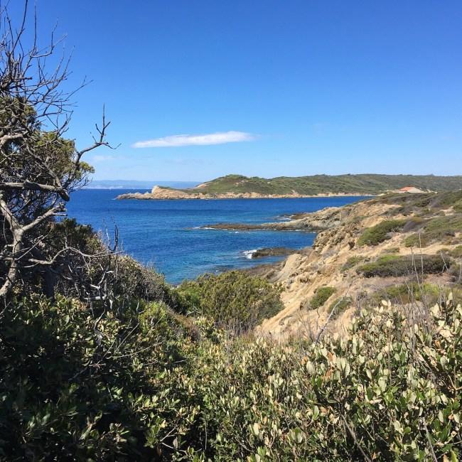 Die wilde Südküste der Insel