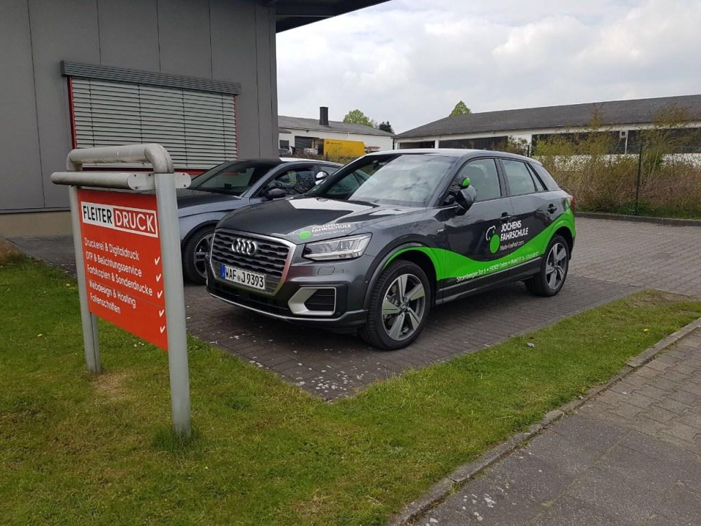 Neuer Q2 Geländewagen für Fahrstunden von Sven