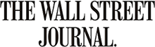 Image of The Wall Street Journal logo in black and white