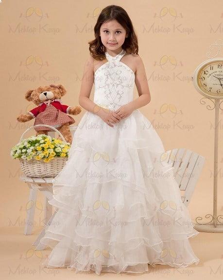 Küçük kızlar için 2014 gelinlik modelleri