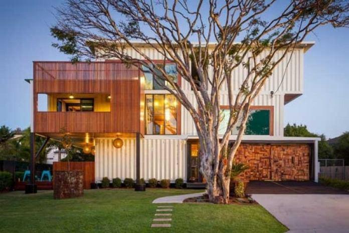 Muhteşem dekorasyonlarıyla konteyner evler