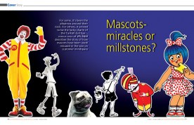 Mascots Miracles or Millstones? - Cover Story