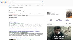 Google Search 12 Strong Times