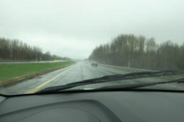 great weather for driving :-(