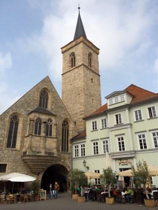 Die Ägidienkirche am Wenigermarkt in Erfurt