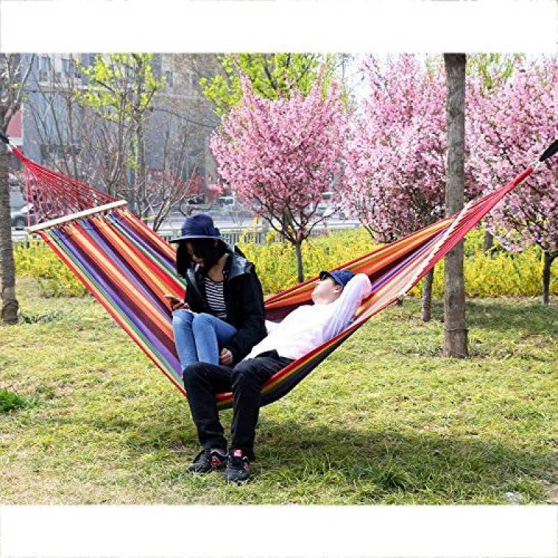 songmics 240 x 150 cm hamac chaise avec 2 oreillers gdc22w de la marque songmics