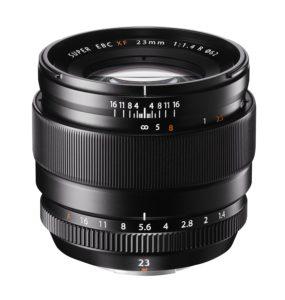 Fujifilm objectif en comparaison