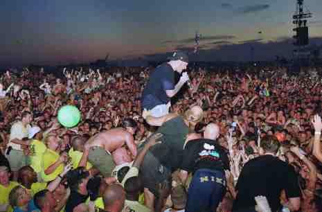 Limp Bizkit pendant Woodstock 1999