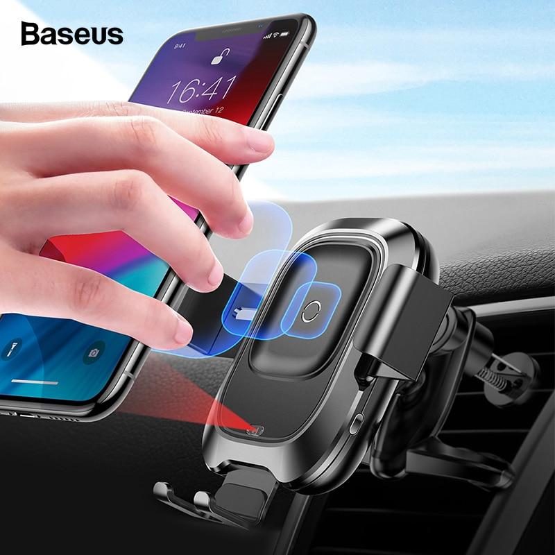 Baseus Chargeur Intelligent 2 en 1 de Charge Rapide sans Fil
