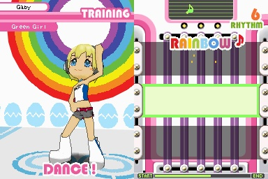 Ooooo dancing. I like the idea of dance/rhythem games, but I havent really played one...