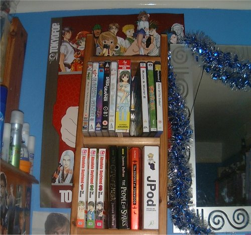 More stuff, books too, actual novels lol.